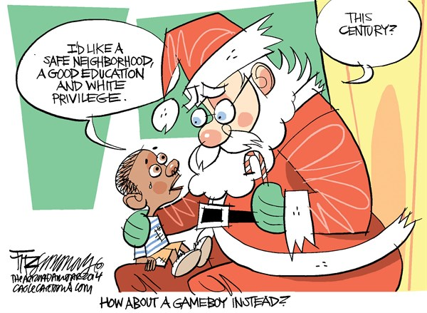 Christmas Wish White Priviledge David Fitzsimmons The Arizona Star