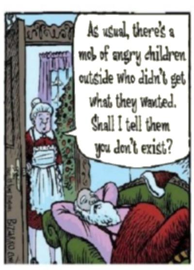 Santa Disappoints Bizarro