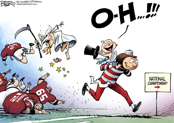 Ohio vs Alabama Nate Beeler The Columbus Dispatch