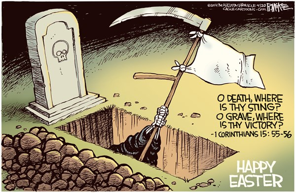 Death Overcome by Easter Rick McKee The Augusta Chronicle