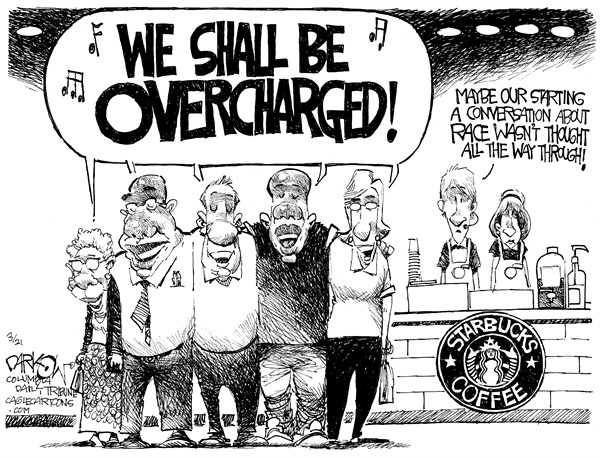 Starbucks II John Darkow Columbia Daily Tribune Missouri