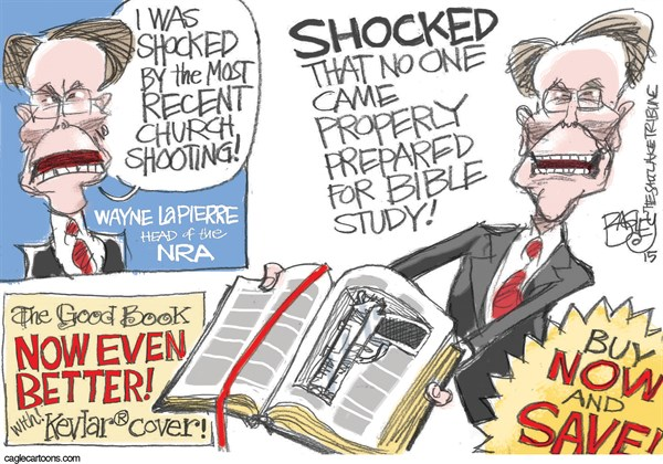 NRA Pat Bagley Salt Lake Tribune
