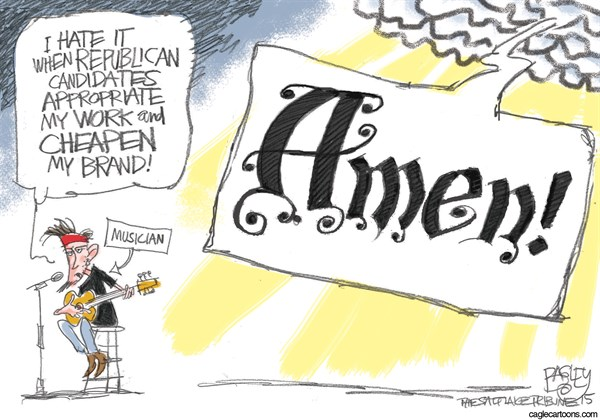 Godly Candidates KEEP Pat Bagley Salt Lake Tribune