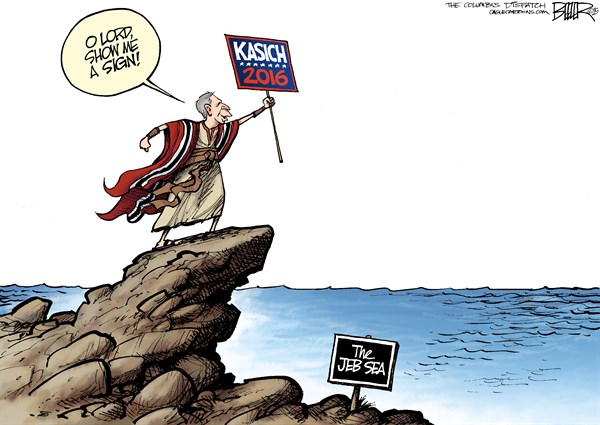 Kasich Nate Beeler The Columbus Dispatch