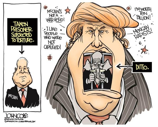 Trumpisms John Cole The Scranton Times Tribune