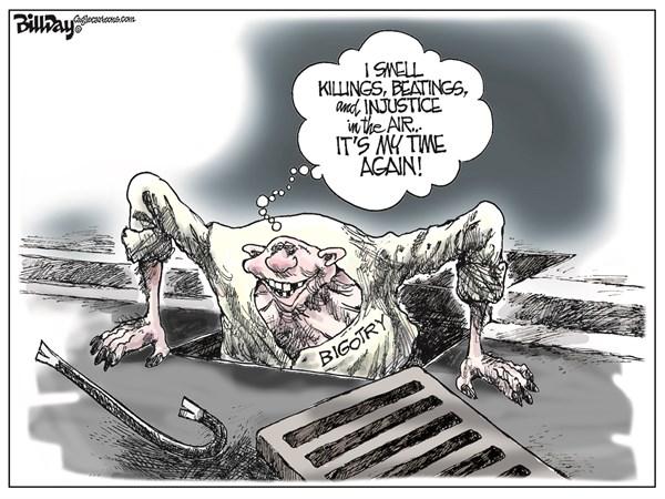 Bigotry Bill Day Cagle Cartoons