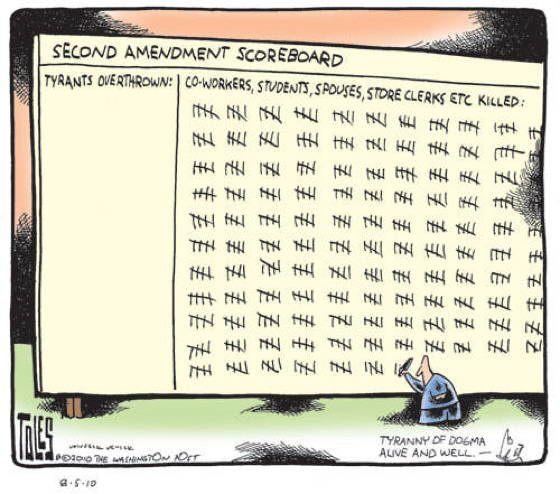 Gun Control Toles
