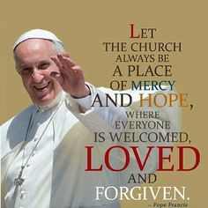 Pope says to the Church