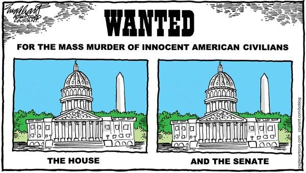 Gun Control Bob Englehart The Hartford Courant