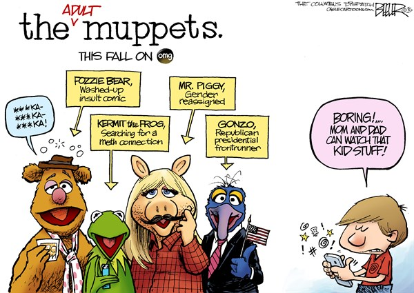 New Muppets Nate Beeler The Columbus Dispatch