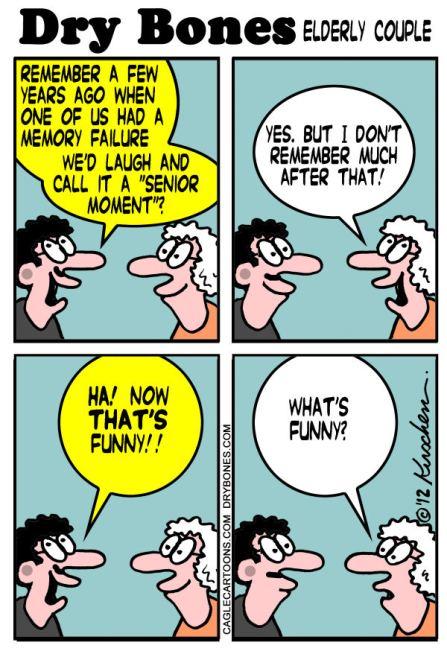 Senior Moments Yaakov Kirschen Dry Bones