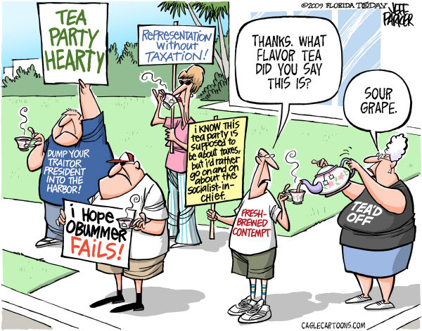 Tea Party Sour Grapes Parker Florida Today
