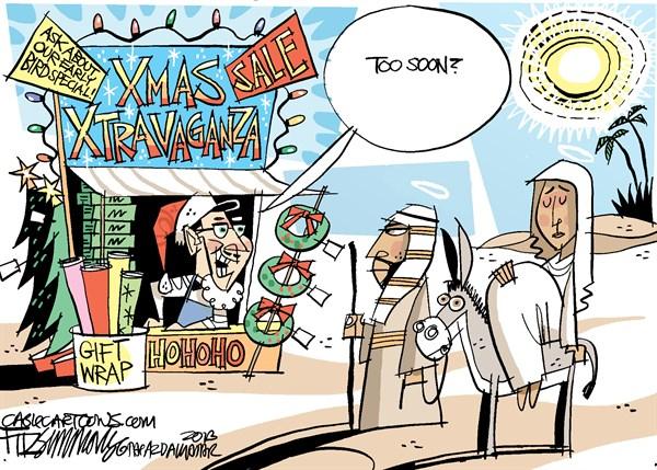 Christmas too soon FB David Fitzsimmons The Arizona Star