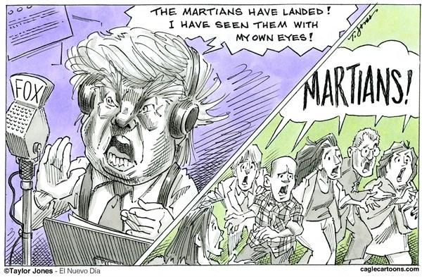 Fear of Martians Trump Taylor Jones,El Nuevo Dia Puerto Rico