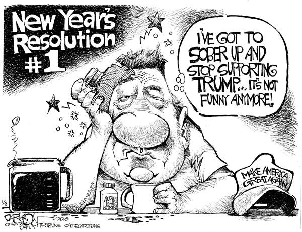 New Year's Resolution I John Darko, Columbia Daily Tribune Missouri