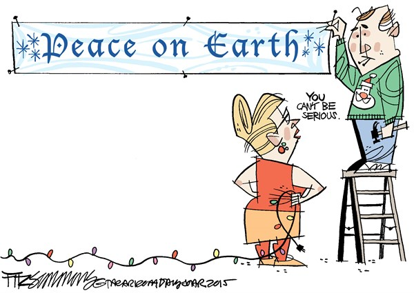 Peace for Christmas David Fitzsimmons The Arizona Star