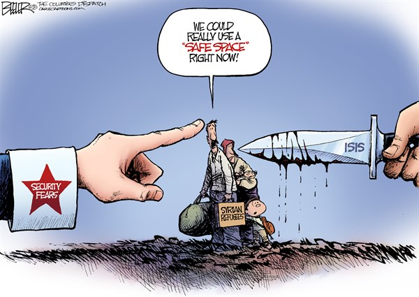Refugees Nate Beeler The Columbus Dispatch