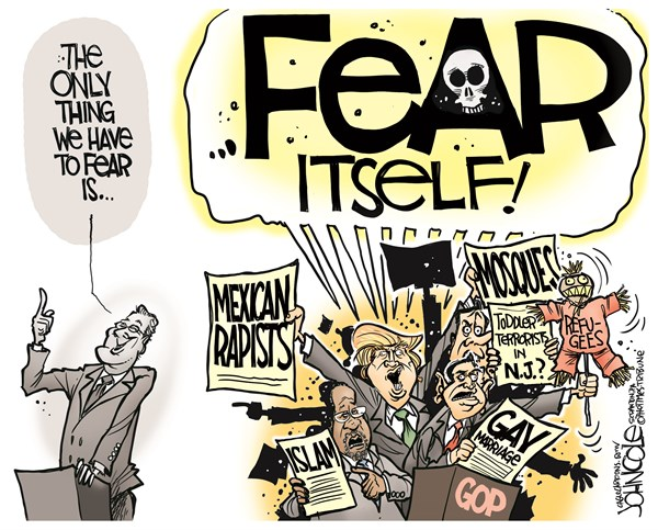 Replacing Fear with Gratitude John Cole The Scranton Times Tribune