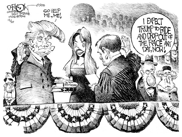 Trump as President John Darkow Columbia Daily Tribune Missouri