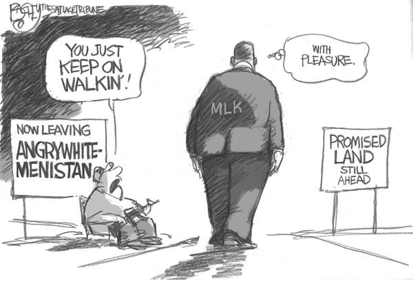MLK Angrywhitemenistan Pat Bagley Salt Lake Tribune