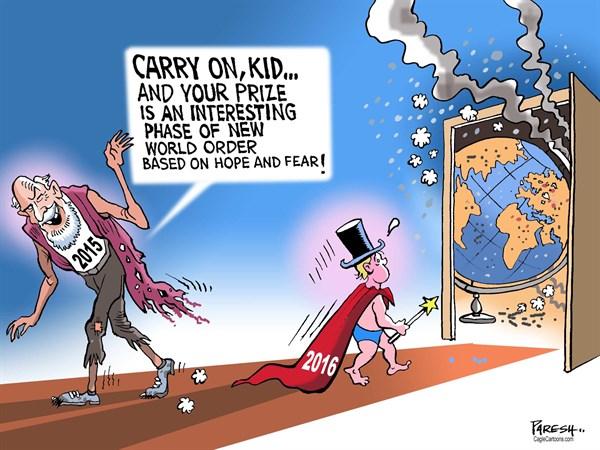 New World Order Paresh Nath The Khaleej Times UAE