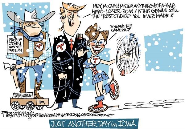 Palin and Trump I David Fitzsimmons The Arizona Star