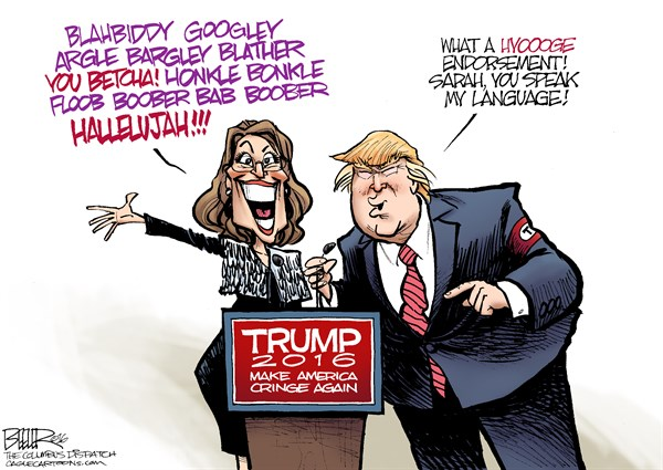 Sarah Palin I Nate Beeler The Columbus Dispatch