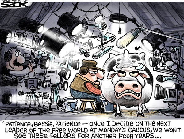 Iowa Caucus Crazies Steve Sack The Minneapolis Star Tribune