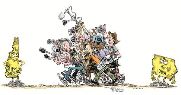 The Press Daryl Cagle CagleCartoons com