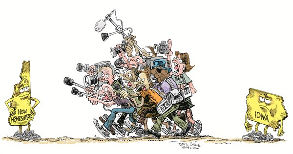 The Press Daryl Cagle CagleCartoons com