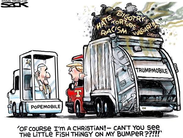 Trump the Christian FB Steve Sack The Minneapolis Star Tribune