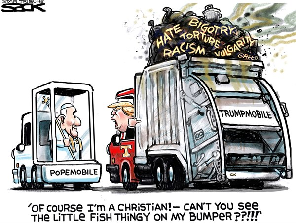 Trump the Christian FB Steve Sack The Minneapolis Star Tribune