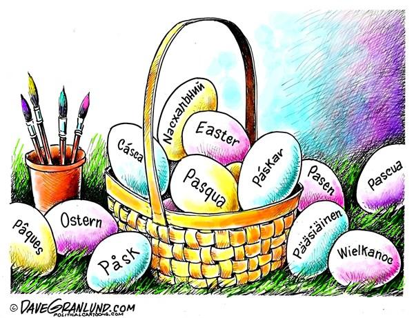 Easter International Dave Granlund Politicalcartoons com