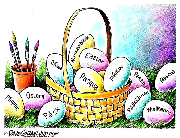 Easter International Dave Granlund Politicalcartoons com