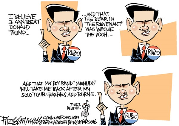 Marco Rubio David Fitzsimmons The Arizona Star