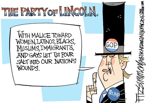 Party of Lincoln David Fitzsimmons,The Arizona Star