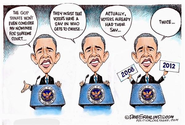 Supreme Court Obama choice Dave Granlund Politicalcartoons com