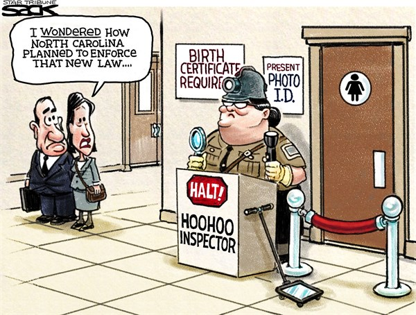 Restroom Rules Steve Sack The Minneapolis Star Tribune