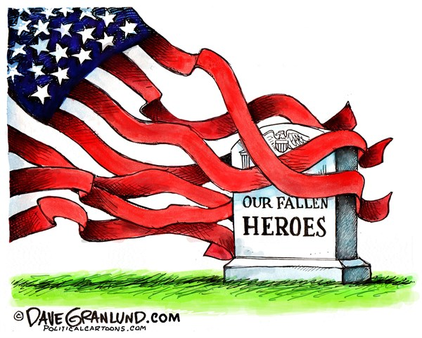 Fallen Heroes Dave Granlund Politicalcartoons com