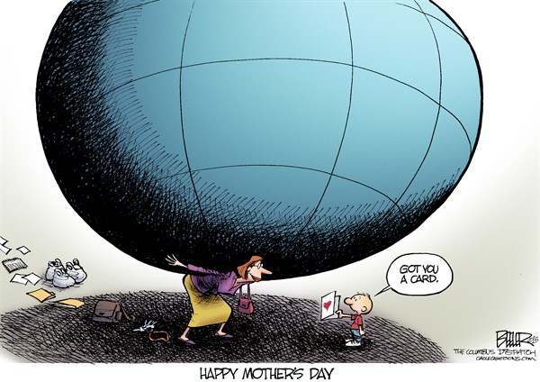 Happy Mothers Day Card Nate Beeler The Columbus Dispatch