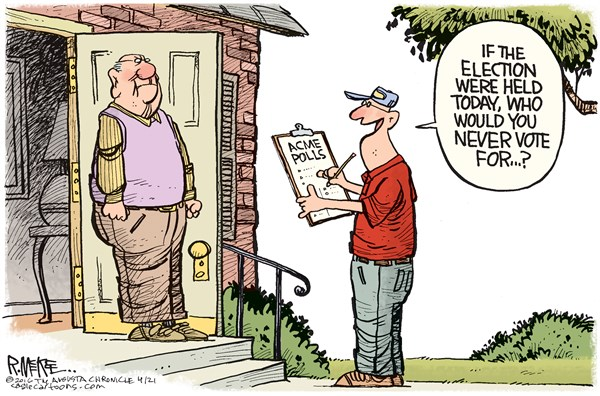 None of the Above Rick McKee The Augusta Chronicle