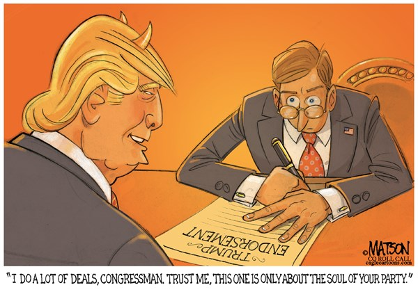 Trump Stealing soul of Gop RJ Matson Roll Call