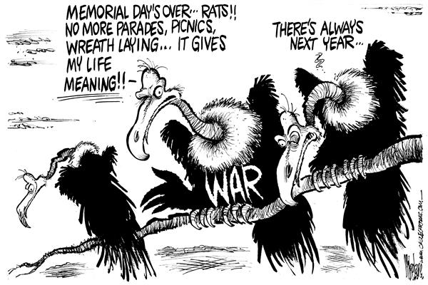 War Meaning Mike Lane Cagle Cartoons