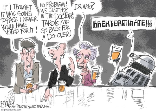 Brexit I Pat Bagley Salt Lake Tribune