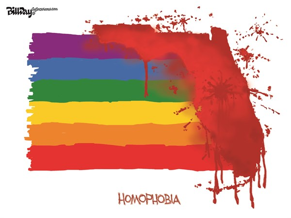 Homophobia Bill Day Cagle Cartoons