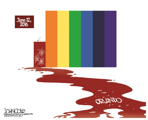 Orlando Shooting John Cole The Scranton Times Tribune