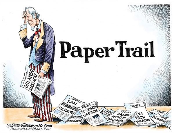 Paper Trail Dave Granlund Politicalcartoons.com