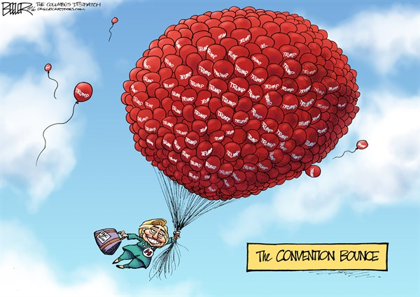 Hillary Rising Nate Beeler The Columbus Dispatch