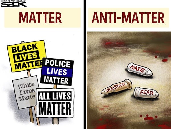 Lives Matter Steve Sack, The Minneapolis Star Tribune
