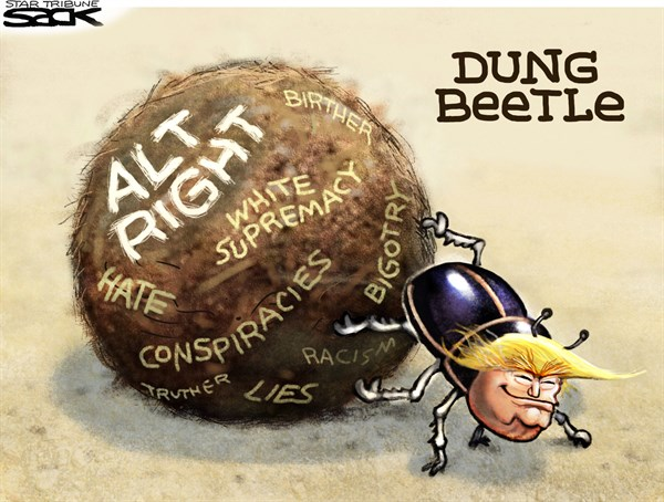 Alt Right All Wrong Steve Sack The Minneapolis Star Tribune